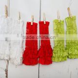 Wholesale! beauty solid lace ruffle baby leggings Fashion multicolor Lace Leggings for baby