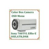 Indoor CCTV camera Sony Exview HAD CCD II 700TVL Effio E OSD Color Box Camera without lens security system