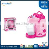 Pink electric kitchen kettle appliance toy