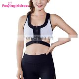 High Quality Yoga Zipper Closure Front Dropship Sports Bra