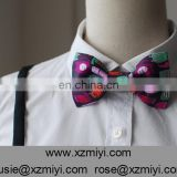 Women's Party Wedding Use Funny Digital Printed Personalized Female Bow Ties