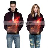 2017 New Fashion China custom cool Galaxy Print 3d Hoodie Jersey For Couples