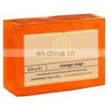 Khadi Natural Herbal Orange Soap