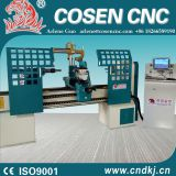 High efficiency antomatic changing tools cnc wood lathe