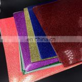 Wholesale Glitter Iron On Heat Transfer Silver Vinyl for T-Shirts