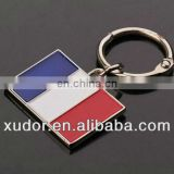 FANCY SOUVENIR COUNTRY FLAG KEYCHAIN METAL