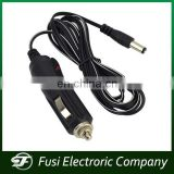 DC 2.1mm Car Cigarette Lighter Power Cable