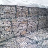 Welded gabion wire mesh used retaining wall blocks