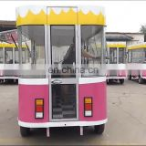Ice cream freezer chilled refrigerator car truck for cool meat food
