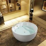 Round massage whirlpool indoor bathtub jacuzzi size 1.6m and 1.7m