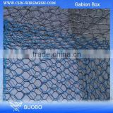 Hot sale PVC coated or Galvanized gabion box prices/glass rock for gabion/gabion stone cost