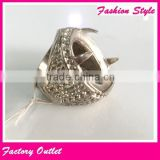 Top hot indonesia stainless steel fashion perhiasan ring for indonesia men gold finger rings base price