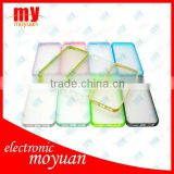 for iphone 5 clear TPU+PC case hard case