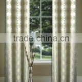 new design home decoration eyelet curtains