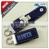 Denim USB Flash Drive with Jeans pen drive for bussiness gifts
