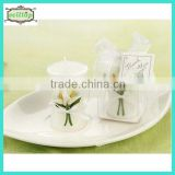 Hot sell calla shape candle wedding giveaways designs