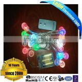 2016 new product RGB battery mini light birthday party decorations wedding table centerpieces