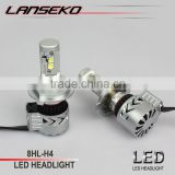 6000lm !! The brightest led headlight on the market 40w auto led headlight h4 bulbs 2 years warranty