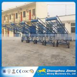 low price Mining equipment flat and inclined belt conveyor