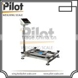 Waterproof BS Series Stainless Steel Digital Weighing Electronic Square Tube Bench Scale