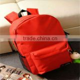 2015 New Product Fashion Trend Canvas Custom Outdoor Bag Camping Backpack