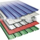 building materials for warehouse using curved corrugated roof panel