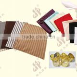 composite double-sided imitation linen western mats/polyester jacquard napkins/napkin rings