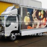 P10mm trailer/car/bus/truck mounted mobile outdoor advertising anti-vibration led display