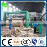 3200mm capacity of 30 tons of multi cylinder multi wire Kraft corrugated paper machine for carton