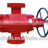 Flanged API industrial gate valve A216 WCB