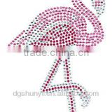 hot fix rhinestone applique bird