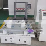 carton simulating transportation vibration test table