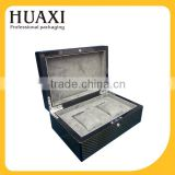 custom design luxury watchbox, watch box with key lock                                                                                                         Supplier's Choice