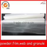 TPU/Polyurethane hotmelt adhesive film for underwear/garment seamless lamination