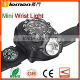 High Quality Compass equipment Led Wrist Watch Light Flashlight for Night Jogging