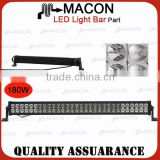31.5 inch 180W led lights price list car led light bar Body Color Black White