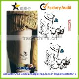 2014 Best price popular fashion custom tattoo supply