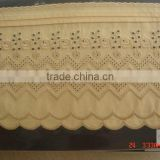 100% Cotton Embroidery Lace Factory