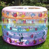 mini outdoor infalatable cartoon swimming pool