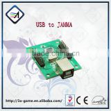 Arcade Control PC USB To JAMMA 2 Players Machine Accessaries Adapter Console Board