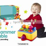 Children&Baby New Style of Musical Hammer Table Game Ball Pounding Toys