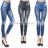 New Styles Women Skinny Jean Leggings Female Mid Waist Denim Casual Fashion Elastic Pants
