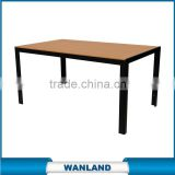 Popular wooden coffee tables aluminium plywood table for sale