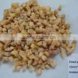 excellent export dried peach dices