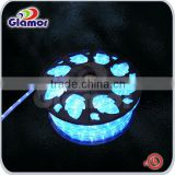 China supplier decoration outdoor LED Luminous Tent Rope ul led rope light,black light rope lights
