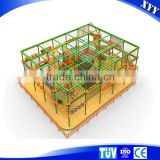 Children's Indoor And Outdoor Rope Climbing Playground Equipment