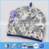 home textile heat resistant custom printed cotton fabric tea cosy