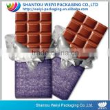 aluminum foil food packaging chocolate wrapping paper                                                                                                         Supplier's Choice