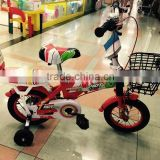 Girls boys 16 inch metal kids bikes children bicycle with 2 training wheels riding for 3 5 years old