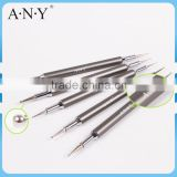ANY Nail Art Salon Using Dotting Design Metal Handle 5PCS Nail Dotting Tool Kit